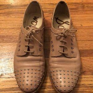 Sam Edelman Studded Oxford shoes